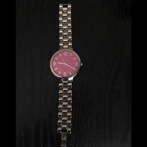 Avon Pink Face Watch 38 mm